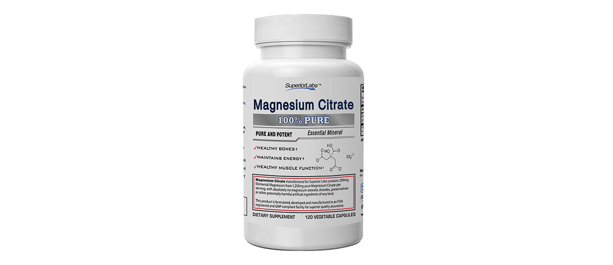 Magnesium Citrate by Superior Labs