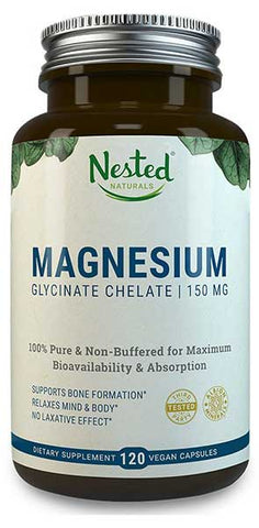 Magnesium Glycinate Chelate by Nested Naturals