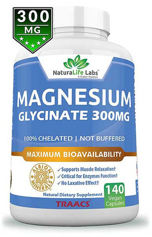 Magnesium Glycinate by NaturaLife Labs