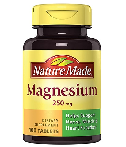 Magnesium Tablets by Nature Made