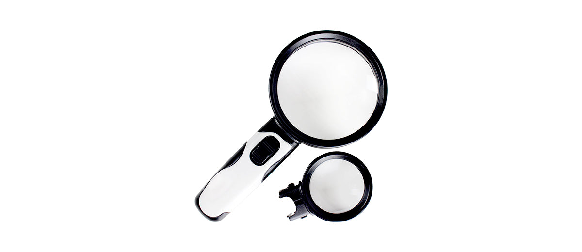 Magnifying Glass with Light by Vive