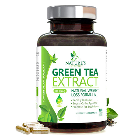 Max Potency Green Tea Extract by Nature's Nutrition