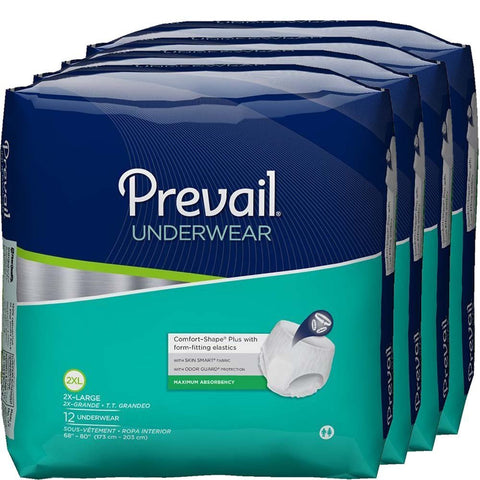 Maximum Absorbency Incontinence Underwear by Prevail