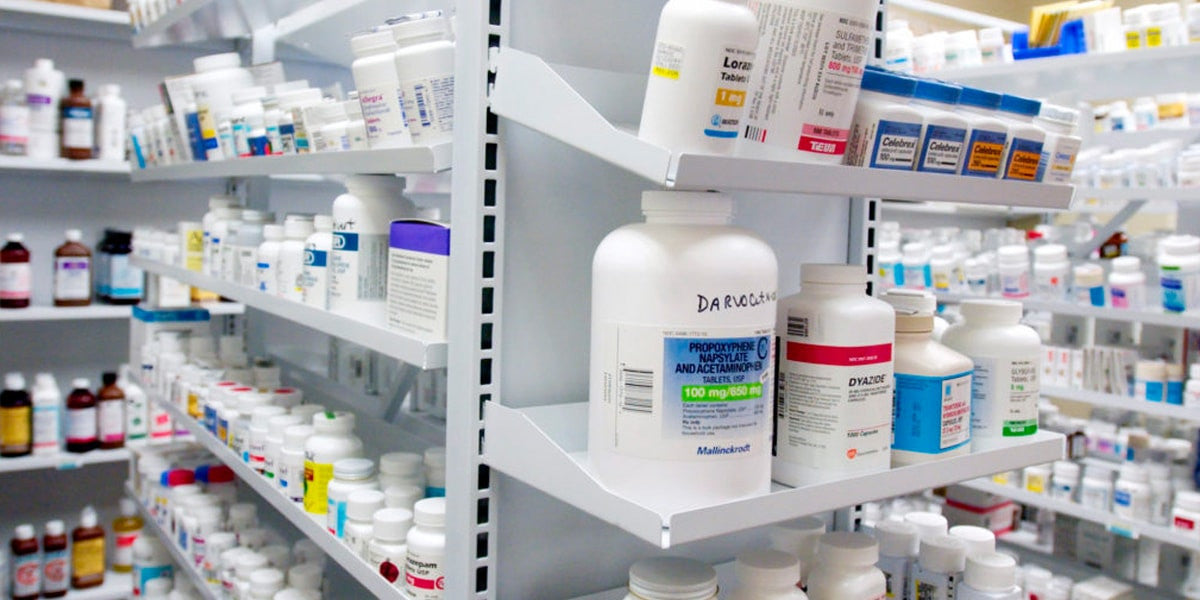 Medicines at Pharmacy
