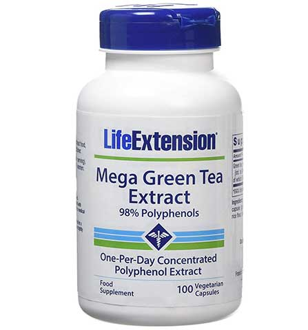 Mega Green Tea Extract by Life Extension