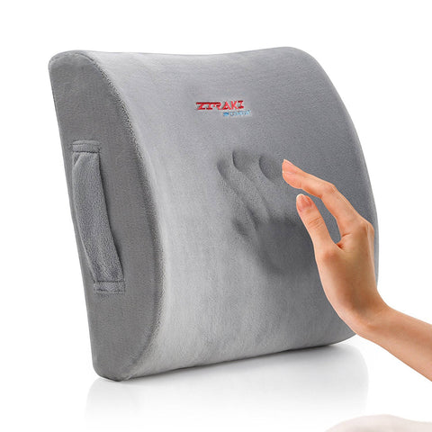 Memory Foam Lumbar Cushion by Ziraki