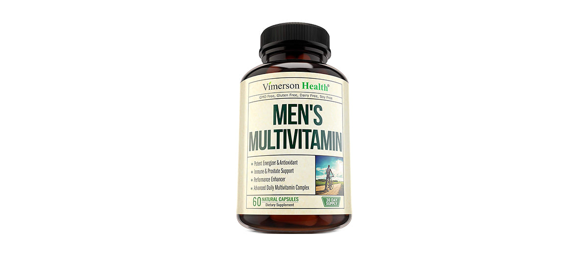 Men's Daily Multivitamin Supplement  by Vimerson Health