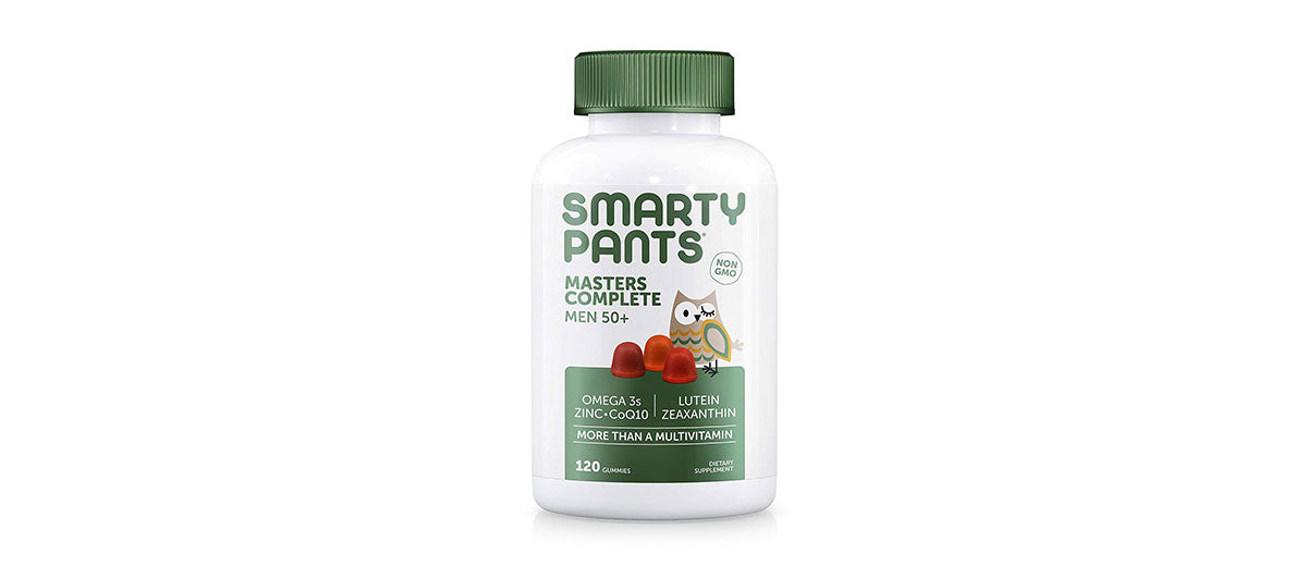 Men's Masters Complete 50+ Vitamins by SmartyPants Gummy Vitamins