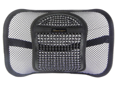 Mesh Lumbar Back Cushion by Go Lumbar Support