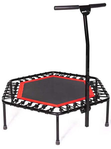 Mini Trampoline with Handle Bar by SportPlus