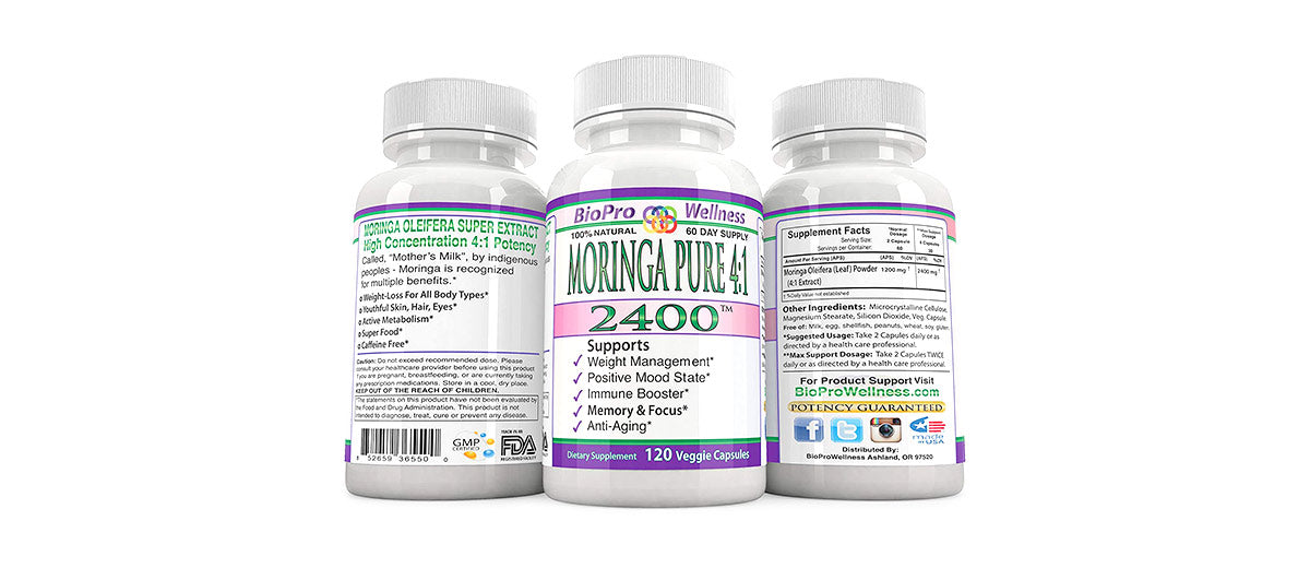 Moringa Oleifera by BioPro Wellness