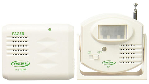 Motion Sensor and Pager by Smart Caregiver