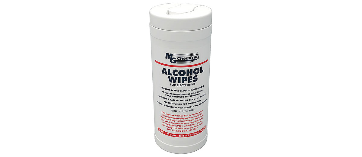Multi Purpose Alcohol Wipes by MG Chemicals