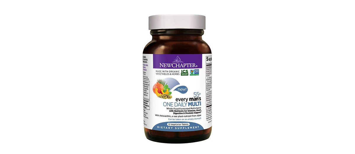 Multivitamin for Men 50 Plus by New Chapter