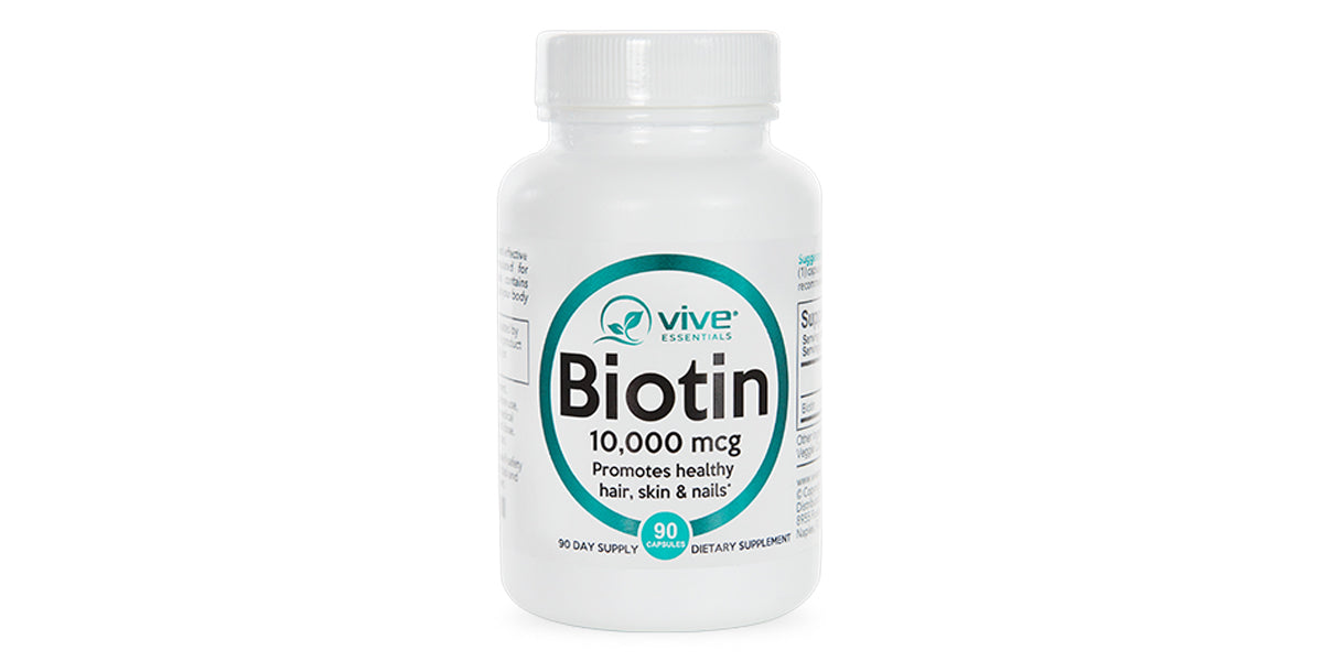 Natural High Potency Biotin by Vive Essentials