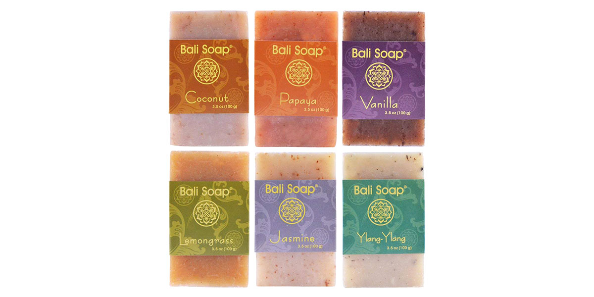 Natural Soap Bar Gift Set,