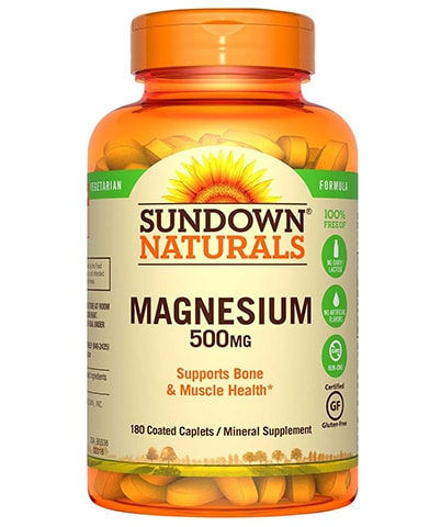 Natural Magnesium Supplement by Sundown Naturals