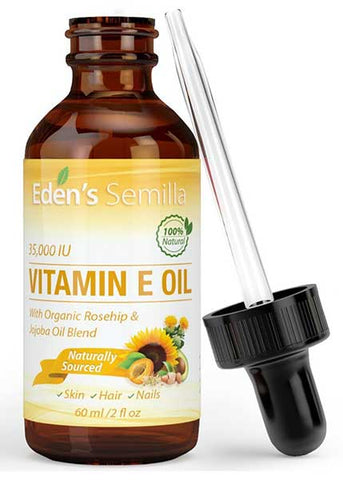 Natural Vitamin E Oil by Eden's Semilla