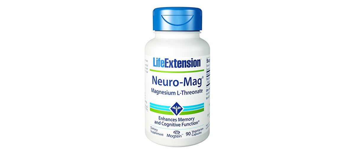 Neuro-mag Magnesium L-threonate for Cognitive Function by Life Extension