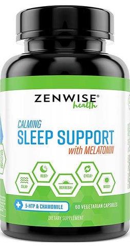 Nighttime Sleep Support Supplement by Zenwise Health