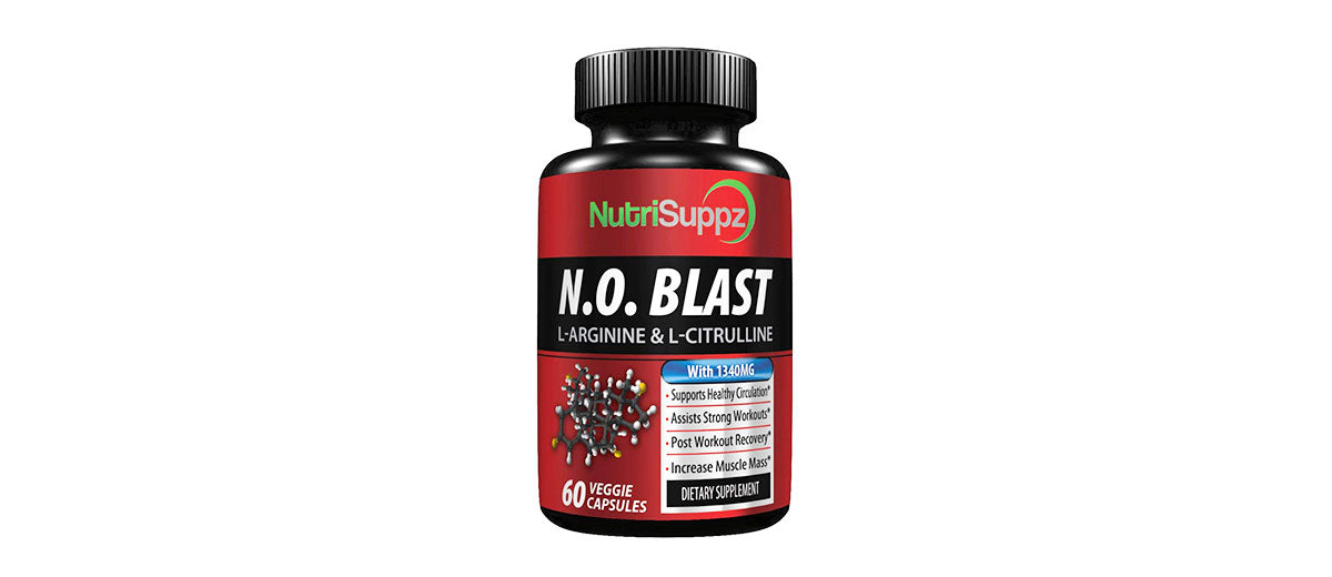Nitric Oxide Supplement by NutriSuppz
