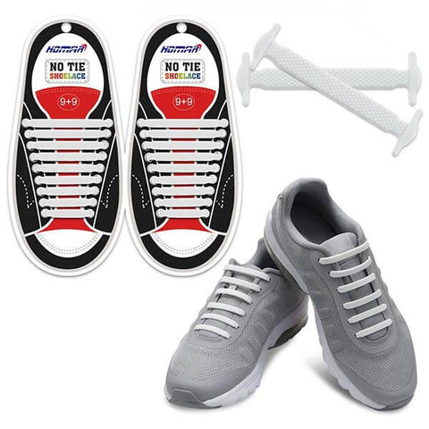 No Tie Shoelaces for Kids and Adults by HOMAR