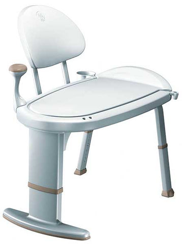 Non-Slip Adjustable Transfer Bench by Moen