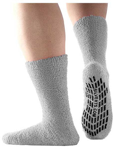 Non Skid Hospital Socks by Silvert's Senior Care