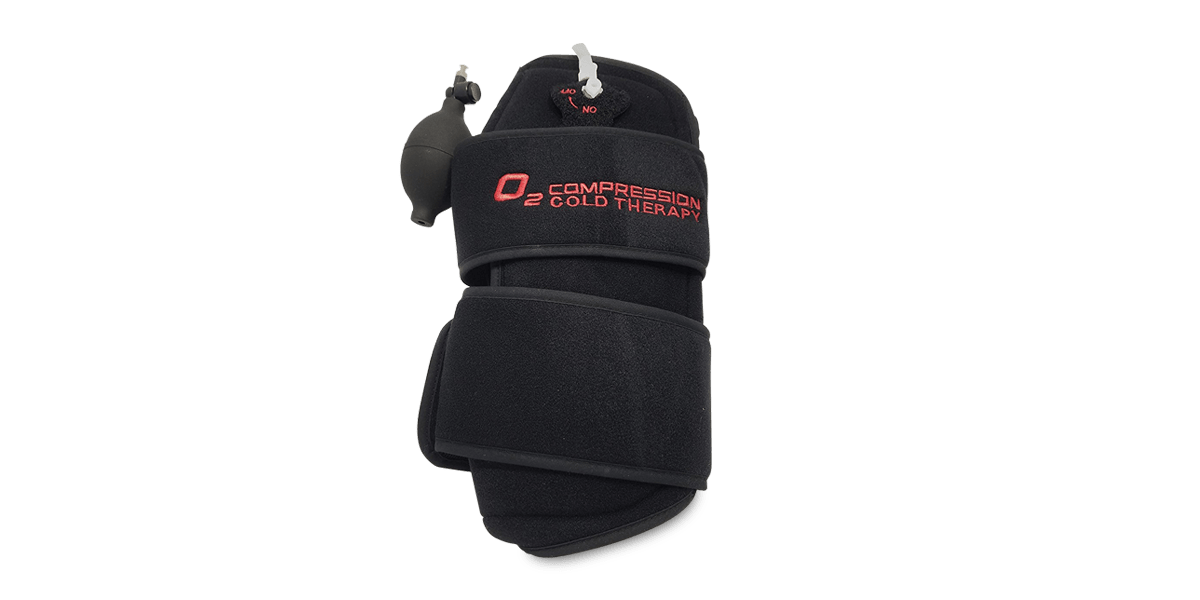 O2 Cold and Compression Knee Wrap