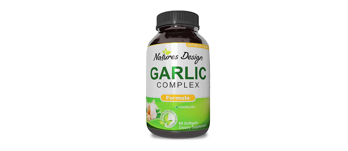 Odorless Garlic and Parsley Supplement by Natures Design