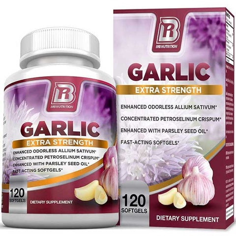 Odorless Garlic Softgels by BRI Nutrition