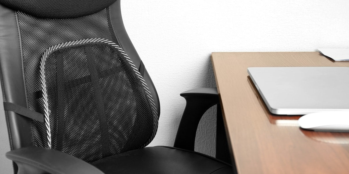 11 best back supports for office chairs 2018 review vive health