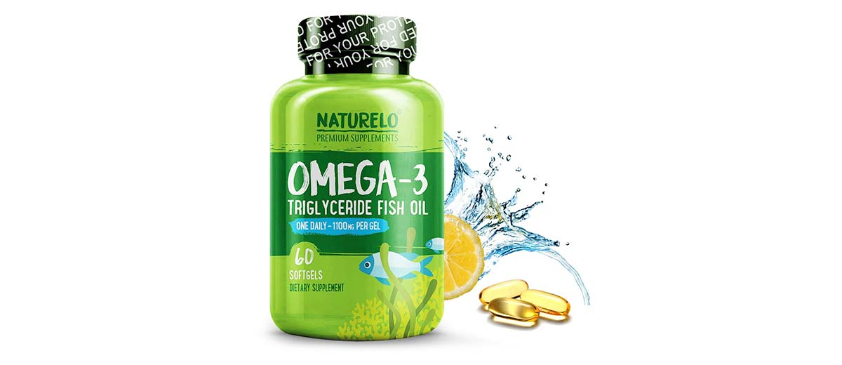 Omega-3 Fish Oil by NATURELO