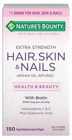 Optimal Solution for Hair, Skin and Nails by Nature's Bounty
