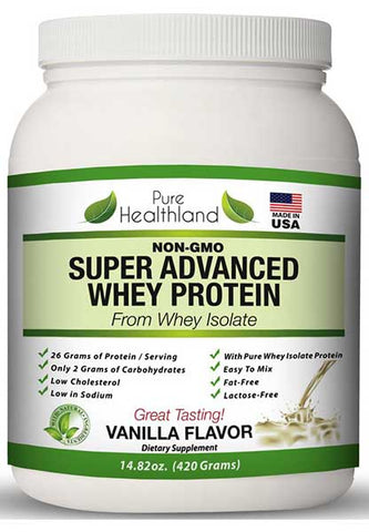 Organic Natural Pure Whey Protein Powder by Pure Healthland
