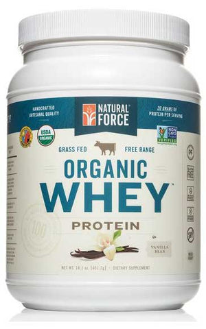 Organic Whey Protein Powder by Natural Force