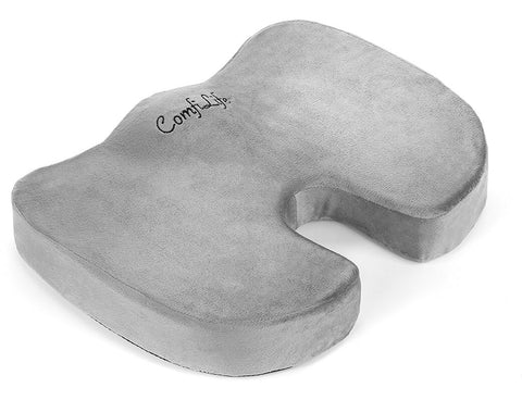 Orthopedic Memory Foam Office Chair and Car Seat Cushion by ComfiLife