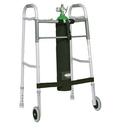 Oxygen Tank Holder for Walkers by Comfort Solutions