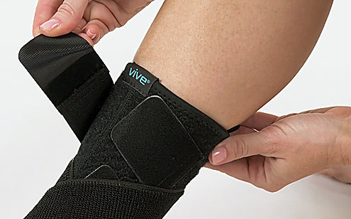 Fastening ankle brace support