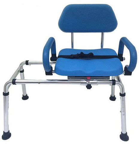 Perfect Padded Transfer Bench And Bath And Shower Chair By Platinum Health ...