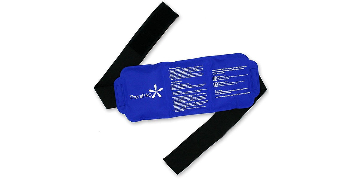 Pain Relief Ice Pack with Strap for Hot and Cold Therapy