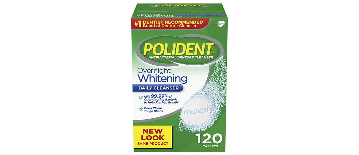 Polident Overnight Whitening by Polident