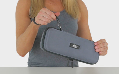 Stethoscope case with sling design