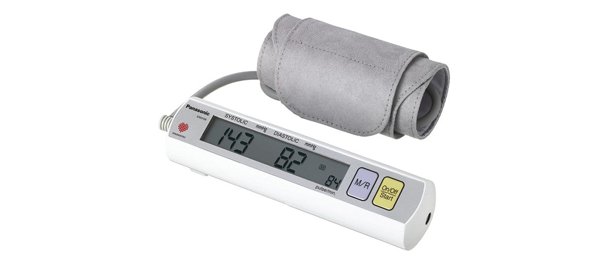 Portable Upper Arm Blood Pressure Monitor by Panasonic