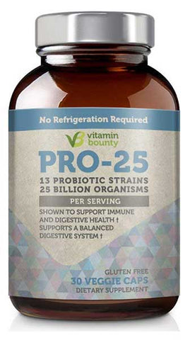 Pro 25 Probiotic by Vitamin Bounty