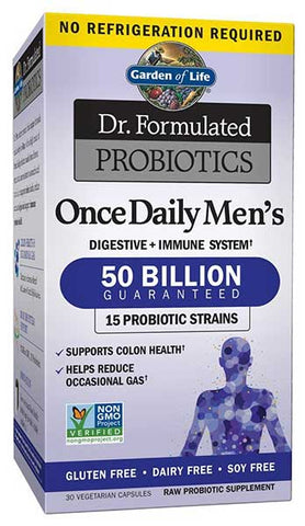 Probiotics Supplement for Men by Garden of Life
