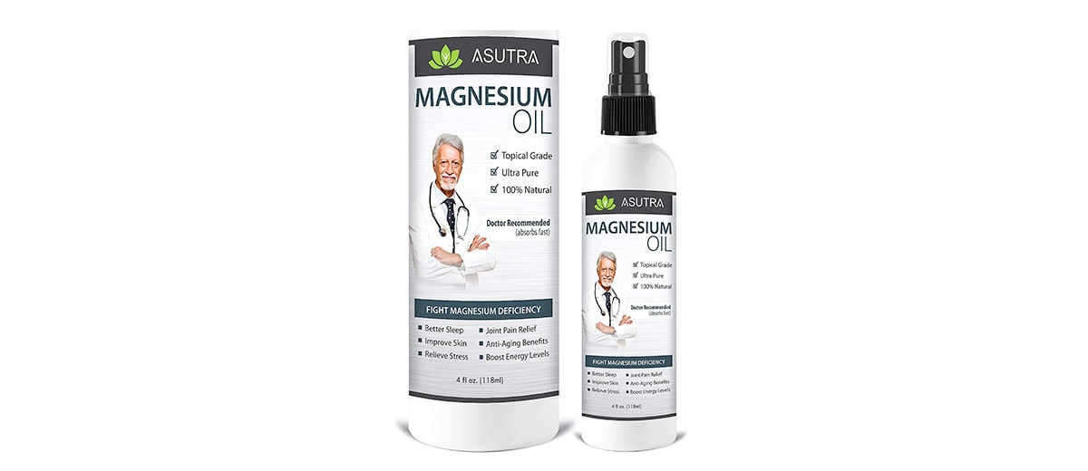 Pure Zechstein Magnesium Oil Spray by ASUTRA