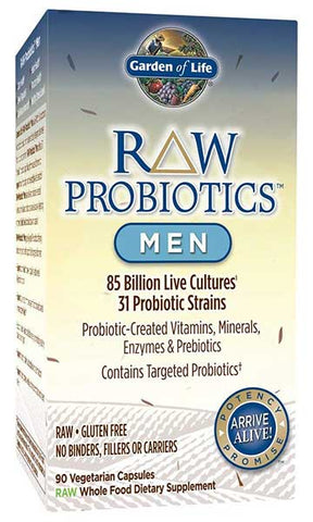 RAW Probiotics Men by Garden of Life