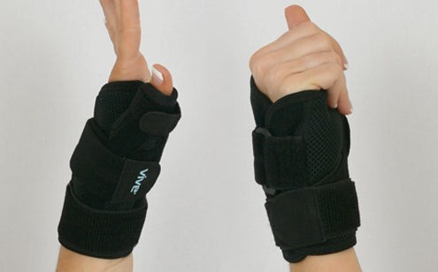 Thumb splint reversible design