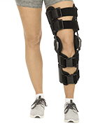 Hinged ROM Knee Brace